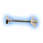 Decorative Nipple Piercing Bar - Bolt