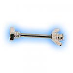 Decorative Nipple Piercing Bar - Bolt