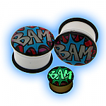 Glow in the Dark BAM Ear Plug