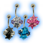 Elegance Belly Bar - Star Cluster