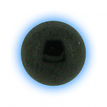 Black PVD Screw On Ball - 1.6mm (14g)