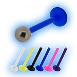 Bioplast 1.6mm (14G) Labret Steel Ball Stud