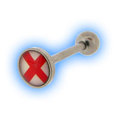 Cross Logo Tongue Bar
